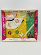 Vintage Ideal Tammy Doll Fashions Pepper Outfit Clothes Shuffle Board Game Sport