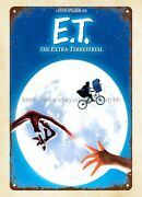 Metal Yard Signs E.t. The Extraterrestrial 1982 Movie Posters Metal Tin Sign