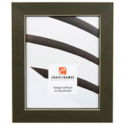 Craig Frames Shaker 276, 1.5 Inch Wide Country Green Solid Wood Picture Frame