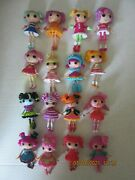 16 Lalaloopsy Lalaloopsies 3 Mini Dolls Figures Lot - Some Hard To Find