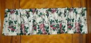 Waverly Garden Room Pleasant Valley Lined Valance Colonial Early American 4 Ava