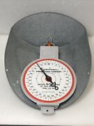 American Family Scale Co. Grocery Store Hanging Basket Scale 60 Lb Chicago Il