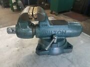 Wilton 400s Heavy Duty Machinist's Vise 4 Jaw 6-1/2 Max Opening 3-1/2 Throat