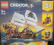 New Lego Creator 3 In 1 Pirate Ship 31109 Ages 9+