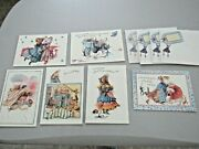 Lot Of 6 Hallmark Vera The Mouse Marjolein Bastin Greeting Cards And 4 Envelopes