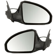 For 06-08 Fx35 Fx45 Mirror Power Heated W/memory W/o Rear View Monitor Pair Set