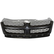 11-14 Avenger Front Grill Grille Assembly Black Shell W/gray Insert 68102307ac