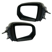 09-10 Benz Gl Ml-class Rear View Mirror Power W/signal And Puddle Lamp Set Pair
