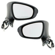 For 13-18 Gs350/gs450h Rear View Mirror Power W/signal And Puddle Lamp Set Pair