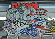 Vote Nixon Lodge You Cant Lick Our Dick Political Campaign Buttons 84 Items