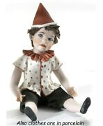 Statue Porcelain Figurine By Pinocchio Nose Long Made By Hand In Italy