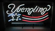 New Yuengling Us Flag America's Oldest Brewery Logo Neon Light Sign 24x20