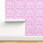 Peel-and-stick Removable Wallpaper Deer Cats Spring Happy Mexico Texas Pretty