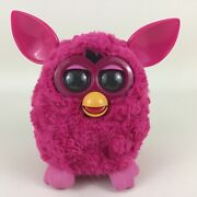Furby Boom Interactive Toy Pet Hasbro 2012 Hot Pink Tested Robotic Friend Fuzzy