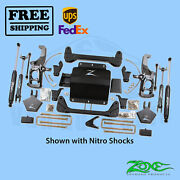 Suspension Lift Kit Zone 5 F And R For Chevy 2500hd Pickup 2wd/4wd 2011-2019
