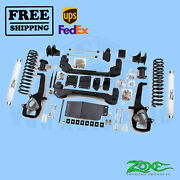 Suspension Lift Kit Zone 6 Front And Rear For Dodge Ram 1500 4wd 2012