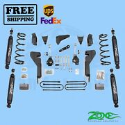 Suspension Lift Kit Zone 6 Front And Rear Fits Dodge Ram 2500 4wd 2003-2007