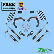 Adventure Series Uca Lift Kit Zone 3 F And R For Gmc 3500hd Pickup 4wd 2011-2019