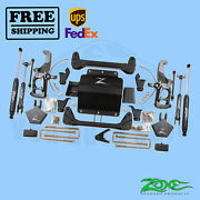 Suspension Lift Kit Zone 5 F And R Fits Chevy 2500hd Pickup 2wd/4wd 2011-2019