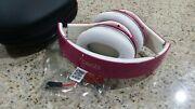 Beats By Dr. Dre Studio 1.0 Wired Over Ear Headphones Purple Color
