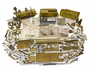 On3 Partial Brass Train Engine Tender Coal Car Large Locomotive Parts Lot As Is