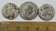 Lot Of 3 Roman Imperial Ancient Silver Coins