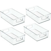 30x4 Pack Pantry And Refrigerator Organizer Bins For Kitchen And Cabinet Storage