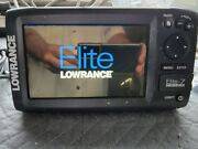 Lowrance Elite -7 Gps Fish Finder With Transducer