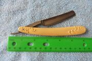 Antique Straight Razor George Wostenholm And Son Sheffield England Ornate Handle
