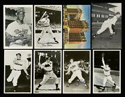 1950 1952 1953 Autographed Signed 25 Rppc Baseball Card Postcards 4 Hall Of Fame