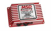 Msd 6421 Red 6al-2 Ignition Control Box With Built-in 2 Step Rev-limiter