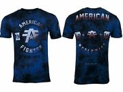 American Fighter Menand039s T-shirt Silver Lake Athletic Multicolor Biker Mma S-5xl
