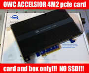 Owc Accelsior 4m2 Pcie M.2 Nvme Ssd Adapter Card Card Only