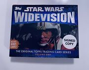 Star Wars Widevision The Original Topps Trading Card Series, Volume One Signed
