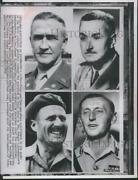 1951 Press Photo Men Appointed To North Atlantic Military Command Posts