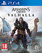 Ps4-assassins Creed - Valhalla Uk Import Game New