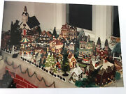 Dept. 56 Dickens Village Huge Lot 20 Buildings Tower More Than 100 Pieces