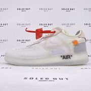 Nike Air Force 1 Low Off-white 2017 - Size 11.5 - Ao4606 100 1012-7