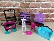 Monster High Doll Furniture Lot Of 8