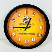 Little Ceasars Pizza Pizza 12 Hanging Wall Clock Time To Keep The Promise