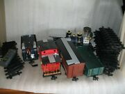 Scientific Toy G Gauge 3691 Engine, Union Pacific Tender, And Remote Train Set