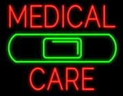 New Medical Care Artwork Real Glass Neon Sign 32x24 Beer Lamp Light