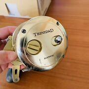 Shimano Trinidad 20 Tn20 Gold Saltwater Reel 6.21 Japan Add-on New Sided Plate