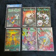 Rick And Morty Comic Book Issue 1-10 First Print Cgc And Variants