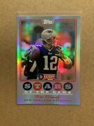 2008 Topps Kickoff Stars Of The Game Sg-tb Tom Brady Refractor