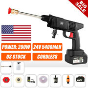 Cordless Power Cleaner Portable Pressure Washer 24v For Rvs Boats/home Projects