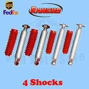 Rancho Rs9000xl Frontandrear 0 Lift Shocks For Chevy Blazer 4wd 92-94 Kit 4