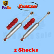 Rancho Rs9000xl Front 2.5-4 Lift Shocks For Chevy Blazer 4wd 92-94 Kit 2