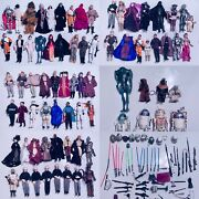 Huge Collection Of 75 Vintage Star Wars 12 Inches Action Figure Episode Hasbro