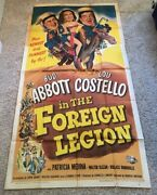 Abbott And Costello In The Foreign Legion Movie Poster  Hollywood Posters